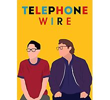Telephone Wire - Fun Home Photographic Print