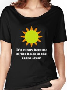 It's Sunny Women's Relaxed Fit T-Shirt