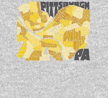 Pittsburgh Neighborhood Map Mens V-Neck T-Shirt