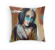 Warpaint by Tim Miklos Throw Pillow