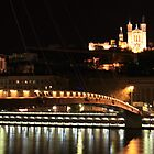 lyon by night by KERES Jasminka