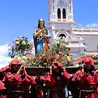 Good Friday, Cuenca, Ecuador by Al Bourassa