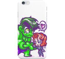 HeroChibis - BEAUTY & BEAST iPhone Case/Skin