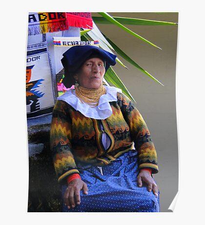 Cuenca Quechuan Indian II Poster