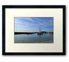 Serenity Early Morning at Lyme Dorset UK Framed Print