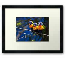 Well Today Was a Total Waste of Make-Up... Framed Print