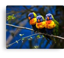 Well Today Was a Total Waste of Make-Up... Canvas Print