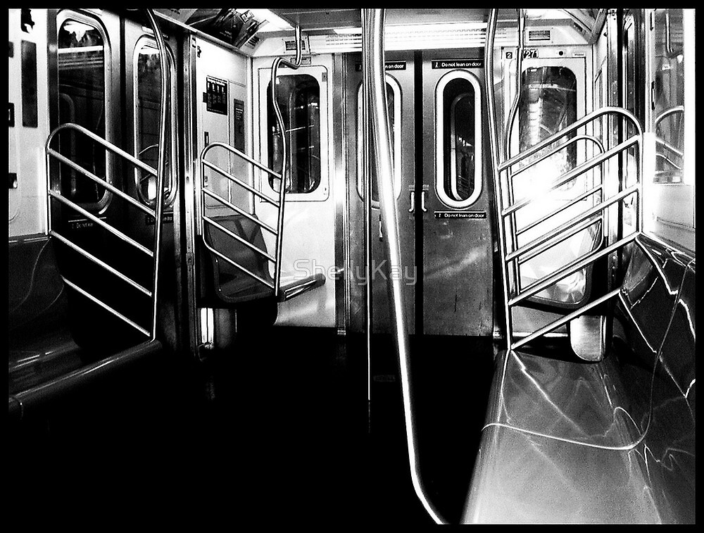 The subway is empty, just like my soul  by ShellyKay