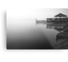Foggy Night at Lilydale Lake #2 Metal Print