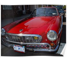 Volvo P1800S Poster