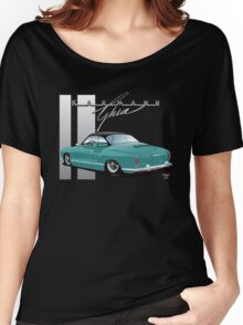 Ghia with a Black Hardtop Women's Relaxed Fit T-Shirt