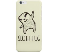 Sloth Hug iPhone Case/Skin