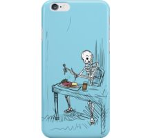 Confused Skeleton iPhone Case/Skin