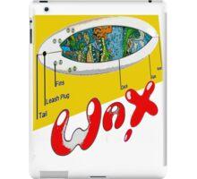 WAX ON... iPad Case/Skin