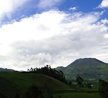 Ecuador Volcano by Al Bourassa