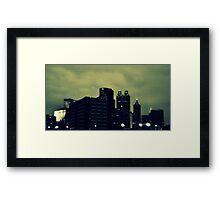 Sweet Atlanta Framed Print