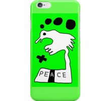The Troubled Peace Dove iPhone Case/Skin