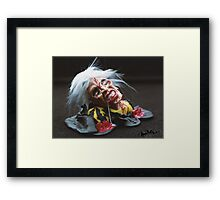 THE EVIL DEAD - in Fimo Framed Print