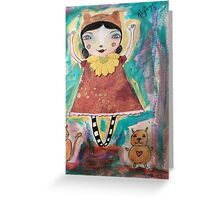 lets go shopping Greeting Card