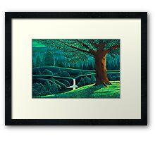 Emerald Valley Framed Print