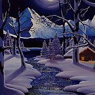 Moonlit Winter by Mark Regni
