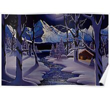 Moonlit Winter Poster