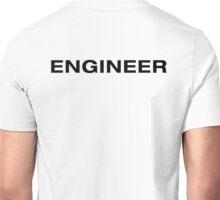 Engineer (Black Text) Unisex T-Shirt