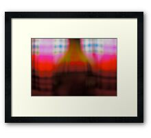 At  morning light contemplation. Brown Sugar Story. Views: 1914.thank you friends ! Framed Print