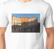 Rome's Fabulous Fountains - Fountain of Neptune, Piazza Navona, Rome, Italy Unisex T-Shirt