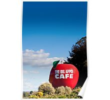 THE BIG APPLE CAFE Poster