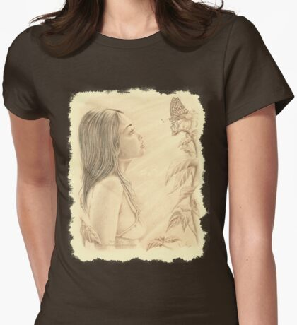 """""""Butterfly"""" by John D Moulton Womens Fitted T-Shirt"""