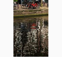 The Red Amsterdam Bicycle   Unisex T-Shirt