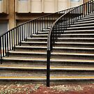University Stairs by Eve Parry