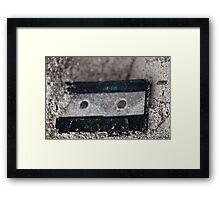 Lost tape Framed Print