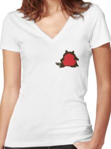 Cartman/The Coon Women's Fitted V-Neck T-Shirt