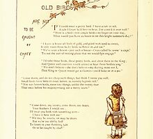 Old Proverbs with New Pictures Lizzie Laweson and Clara Mateaux 1881 0048 Old Birds are Not Caught by Chaff by wetdryvac