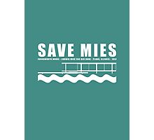 Mies van der Rohe Farnsworth Architecture Tshirt Photographic Print