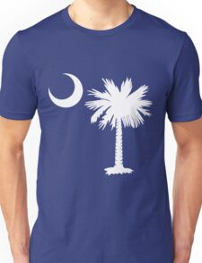 White Palmetto Moon Unisex T-Shirt
