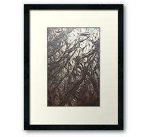 Golden/silver sand 8223 Framed Print
