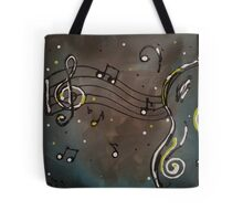 Acoustic Melody Tote Bag