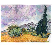 A Van Gogh Dream Poster
