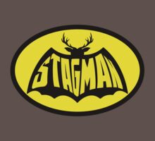 Stag Man - Stag T-shirt by callmeberty