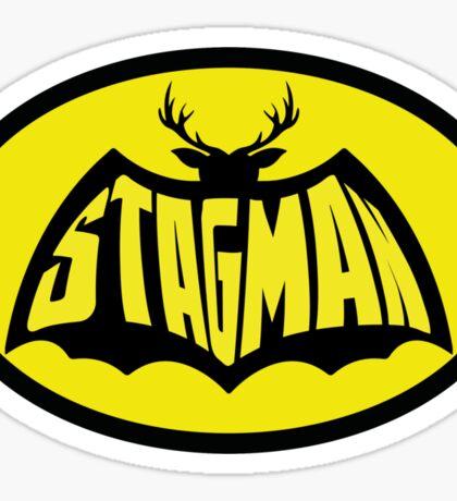 Stag Man - Stag T-shirt Sticker