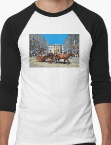 The Charm of Vienna  Men's Baseball ¾ T-Shirt