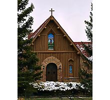 Our Lady of the Mountain Catholic Church Photographic Print