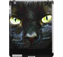 Mystery - Good Fortune Black Cat Art iPad Case/Skin