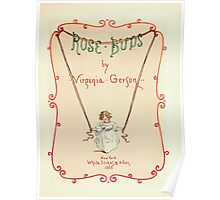 Rose Buds Virginia Gerson 1885 0007 Title Plate Poster