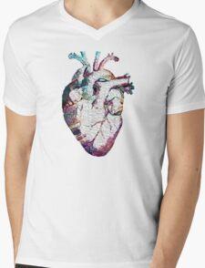 Anatomy - Heart (Oil Paint) Mens V-Neck T-Shirt