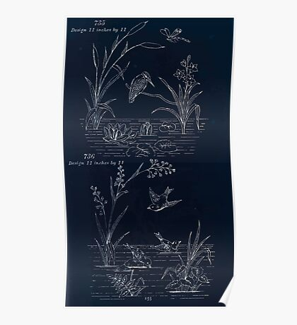 Briggs & Company Patent Transferring Papers Kate Greenaway 1886 0165 Inverted Poster