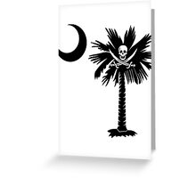 Calico Jack Pirate Palmetto Moon Greeting Card